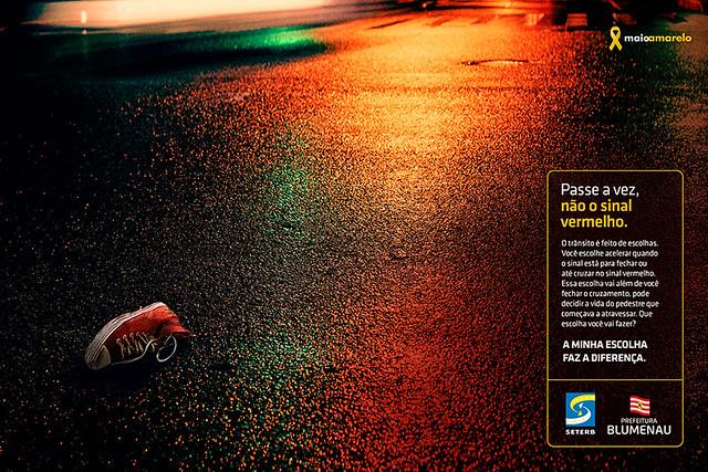 Blumenau entra no Maio Amarelo com campanha da Free Multiagência