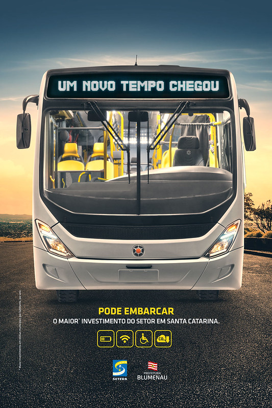 Seterb anuncia nova frota de ônibus com campanha da Free