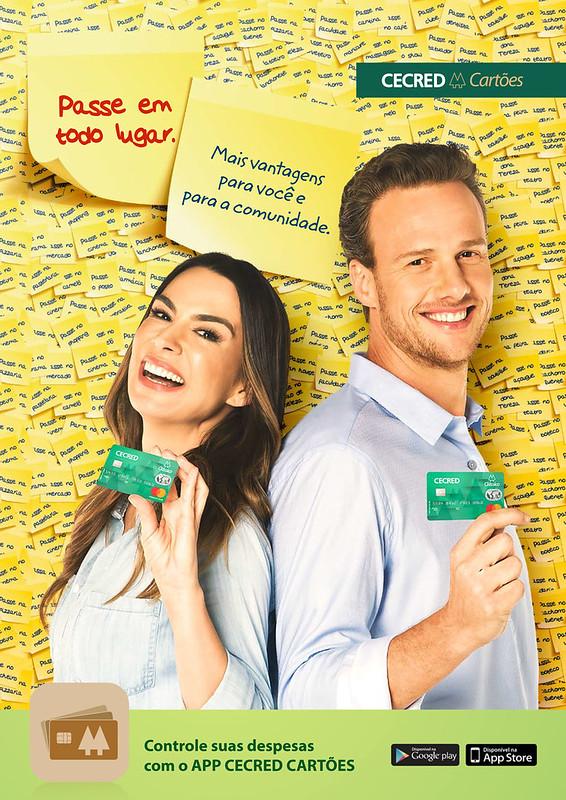 CECRED cartões estreia campanha criada pela Free