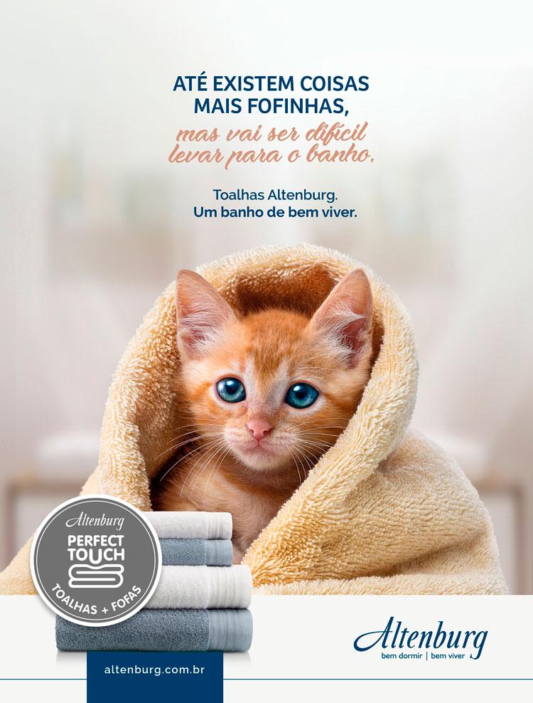 Altenburg relança linha de toalhas